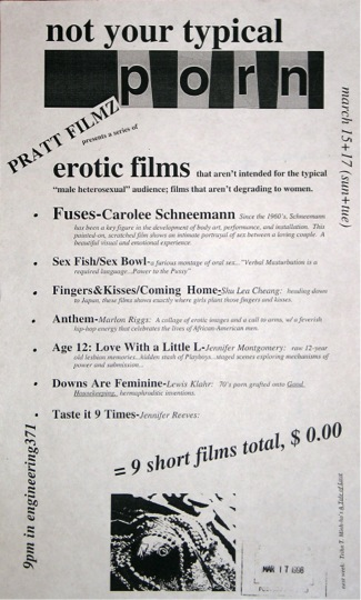 Pratt Film Series poster