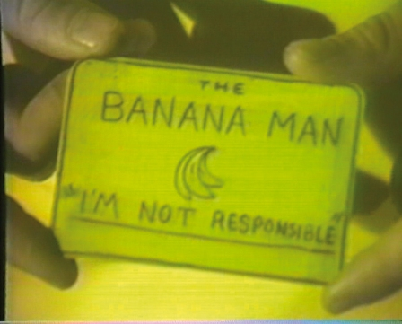 "Mike Kelley, ""The Banana Man"""