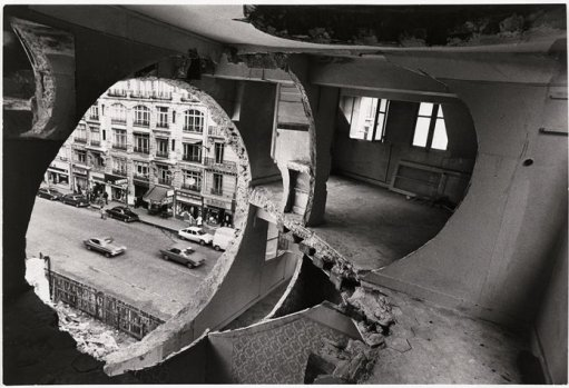 """Conical Intersect"" by Gordon Matta-Clark"