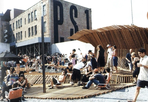 Dunescape by SHoP Architects at MoMA PS1, 2000.
