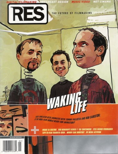 "RES Magazine cover, 2000. ""Sex, Lies and Videotape,"" review of Some Kind of Loving by Holly Willis."