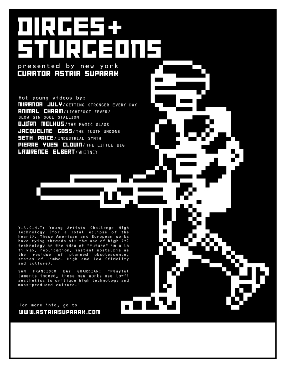 Dirges and Sturgeons poster