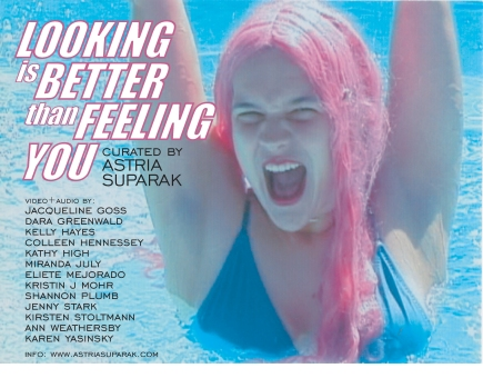 Looking is better than feeling you tour poster