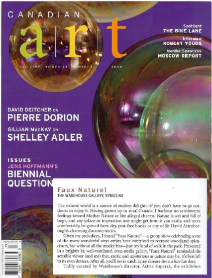 Canadian Art magazine