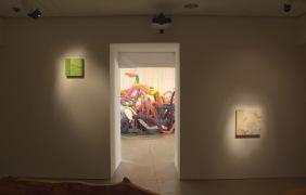 Installation shot - from video room