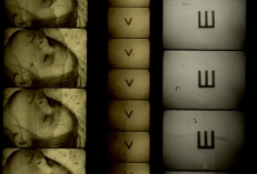 Filmstrips from Alex MacKenzie's Wooden Lightbox. Courtesy of the artist.