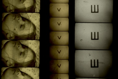 Filmstrips from Alex MacKenzie's Wooden Lightbox. Courtesy of the artist.