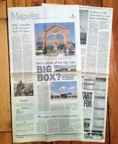 Cover of Pittsburgh Post-Gazette Magazine