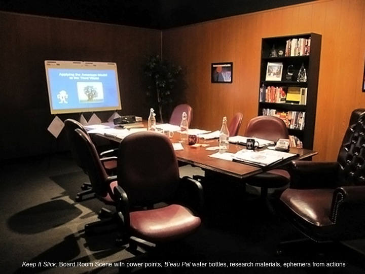 Board Room Scene from Keep It Slick