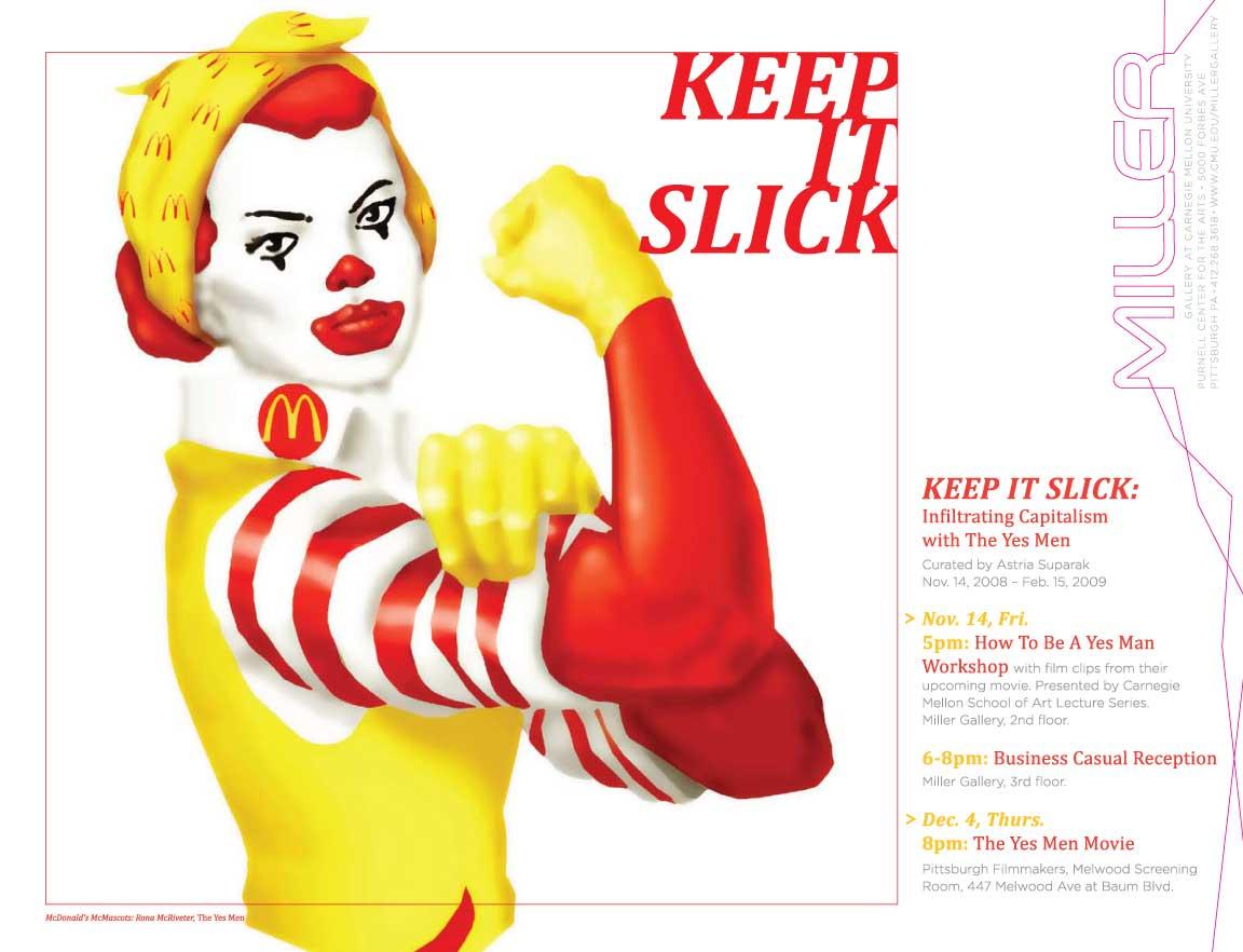 Keep It Slick Poster