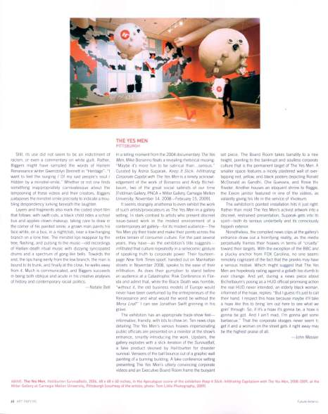 ART PAPERS review by John Massier, July/Aug. 2009