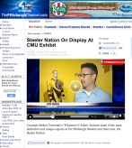 """ABC Evening News, Top Story: """"Steeler Nation on Display at CMU Exhibit"""""""