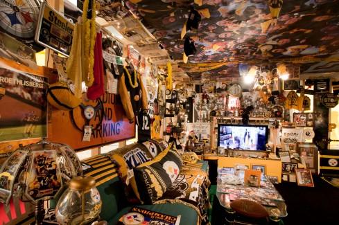 Denny DeLuca's Steeler Room in Whatever It Takes
