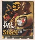 """City Paper cover story: """"Art of the Steel"""""""