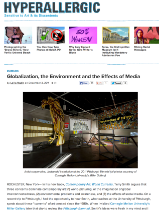 Hyperallergic review of the 2011 Pittsburgh Biennial at CMU's Miller Gallery
