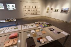 Installation view of Imperfect Health exhibition at Miller Gallery at Carnegie Mellon University