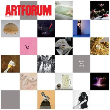 "Selected in ""The Artists' Artists"" section of Artforum's Best of 2014 issue, for ""the single image, exhibition, or event that most memorably captured their eye in 2014."""