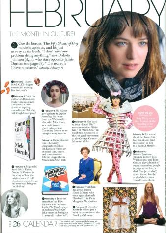 ELLE Magazine, Feb. 2015