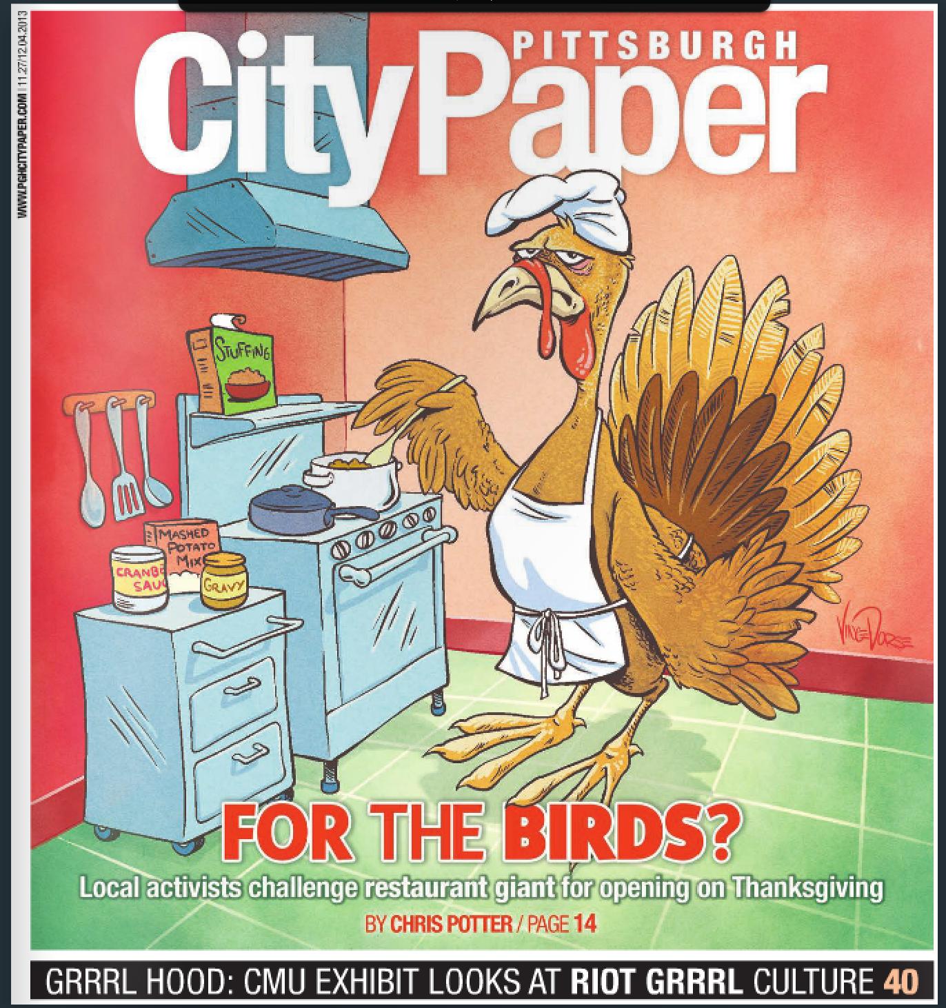 CityPaper Cover AlienShe 2013-11-27