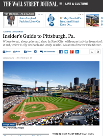 WSJ - Guide to Pittsburgh