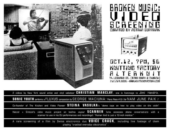Broken Music poster
