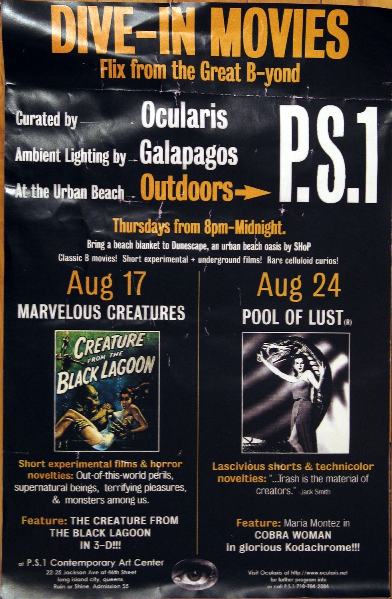 DIVE-IN MOVIES: PS1 Outdoor Summer Film Series