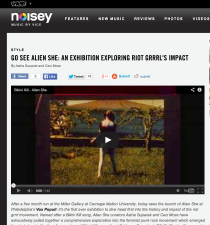 Vice's Noisey on Alien She