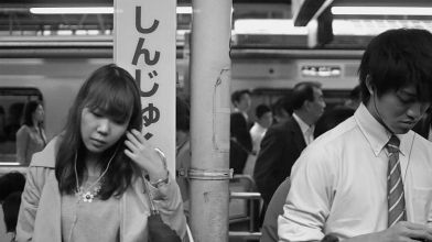 Still from Stainless, Shinjuku, Adam Magyar, 2013