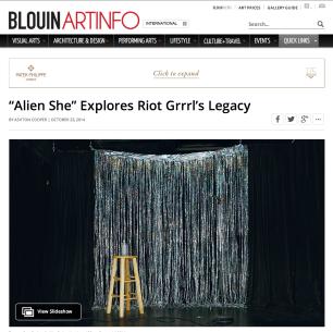 ArtInfo interview and slideshow