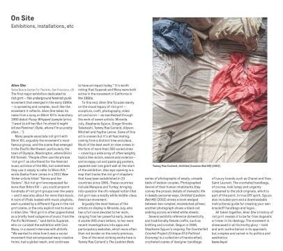 Review of Alien She in The Wire, April 2015