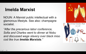 """Imelda Marxist"" from the Women Inc. Lexicon"