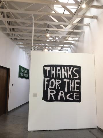 """Installation of """"Winningest"""" at 18th Street Arts Center, Santa Monica, CA. July 2018."""