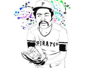 "Still from ""Dock Ellis & the LSD No-No"" by James Blagden (produced by Christopher Isenberg)"