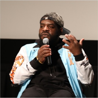 "Hanif Abdurraqib at ""Expanding the Field"". Photo by the Wexner Center for the Arts."