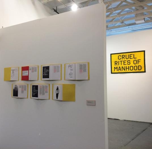 "Installation view of ""Winningest"" at 18th Street Arts Center, Santa Monica, California, July 2018."