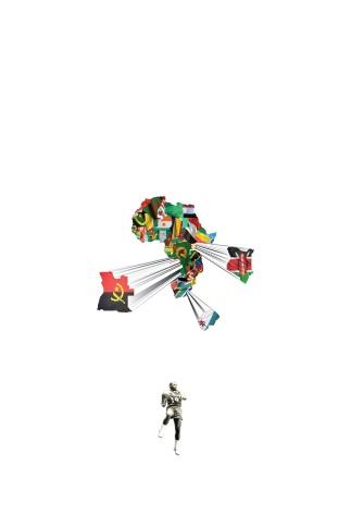 "Haig Aivazian, ""Spear"", archival inkjet print, 120x80cm, 2012."