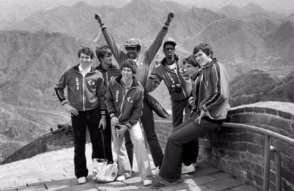 1979 - 1979 – In a preview of the NBA's efforts to expand its commercial presence internationally, the Bullets went to China, the first time an NBA team appeared there.