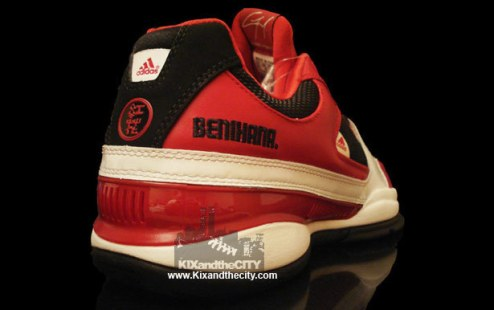 "2008-09 - 2008 – The restaurant chain Benihana officially collaborates with Adidas on Gil II Zero ""Hibachi"" shoes for Wizards point guard Gilbert Arenas. Nicknamed Agent Zero, Arenas described his playing style with the term for a Japanese charcoal stove: ""You just got burned. The arm is a hibachi. So when it gets hot, you can't stop it. You're getting cooked. You're getting hibachi'd."" Only 1,000 pairs were made and sold exclusively in D.C., but Arenas never had the chance to wear the shoe on court. Ten years later, Arenas' friend and Golden State Warrior Nick ""Swaggy P"" Young debuted the shoes in Game 3 of the 2018 Western Conference Finals."