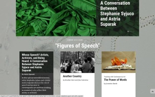 "Screengrab of ""Whose Speech? Artists, Activists, and Being Heard,"" Art21 Magazine, Sept. 2018"