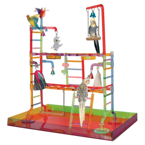 Research image. Play gym from Bonka Bird Toys.