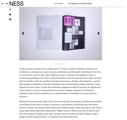 Review in NESS Magazine