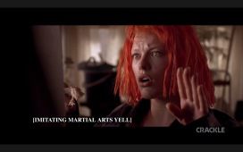 """Still from """"The Fifth Element"""" (dir. Luc Besson, 1997)"""