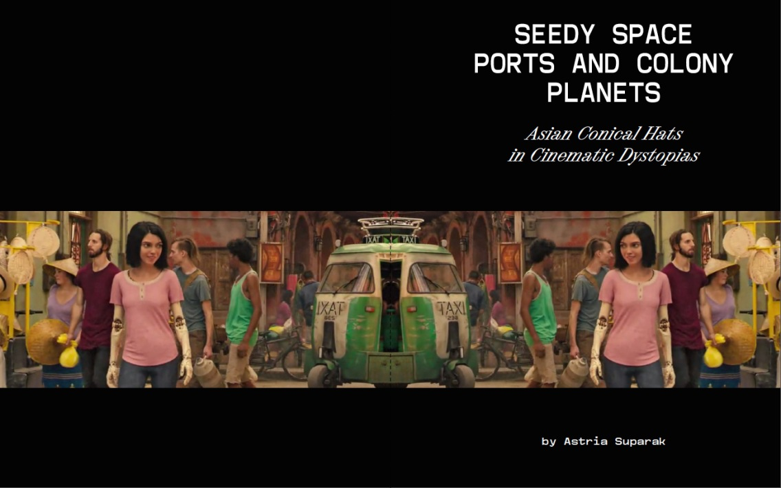 """""""Seedy Space Ports and Colony Planets"""" by Astria Suparak, Seen journal, 2021."""