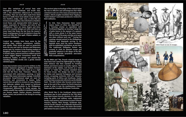 """Spread and collage in """"Seedy Space Ports and Colony Planets,"""" Astria Suparak, Seen journal, 2021"""